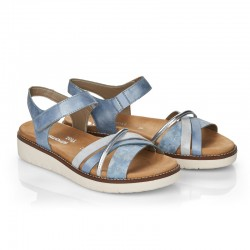 Brown sandals for women Remonte D2058-12