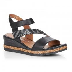 Sandaler med kilehæl Remonte D3054-01