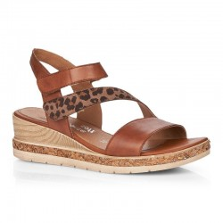 Sandaler med kilehæl Remonte D3054-24