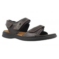 Men's big size sandals Josef Seibel 10104-brown