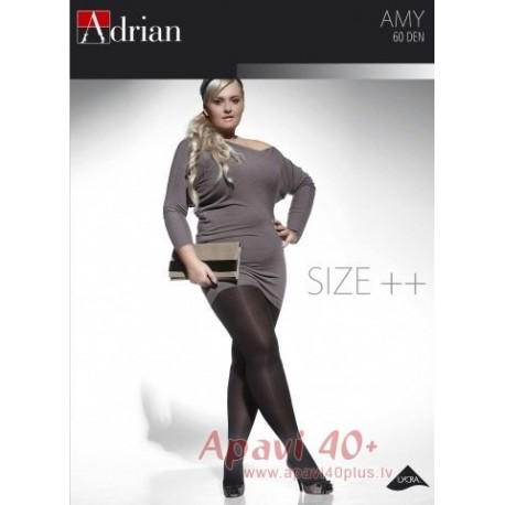 Amy big size tights 60 DEN