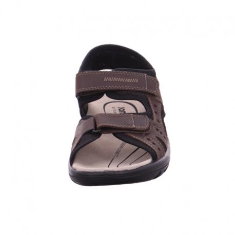 Liela izmēra vīriešu sandales Jomos 504609 malaga/choco