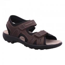 Big size mens sandals Jomos 504609 malaga/choco