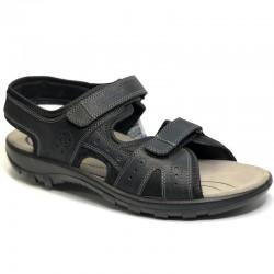 Big size mens sandals Jomos 504609 orlando/ schwarz
