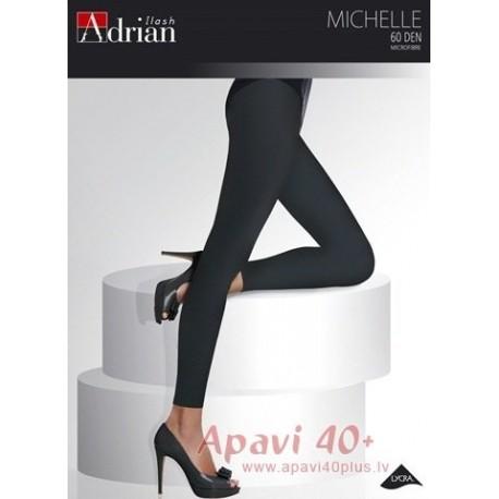 Didelio dydžio antblauzdžiai Michelle 60 DEN, juodos