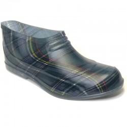 Īsās gumijas kurpes (galošas) 701SP-rutis-zalas