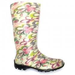 Women's rain boots 100P butterfly