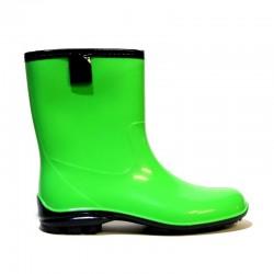 Žemos guminės batai 100P-green