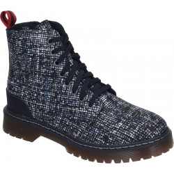 Autumn lace up low boots (with zipper) Manitu 962056