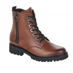 Brown spring/autumn low boots Remonte D8671-22