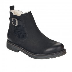 Winter low boots with natural wool Remonte D4873-02