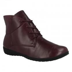 Women's autumn big size ankle boots Josef Seibel 79709 bordo