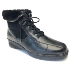 Wide Ankle Boots Solidus 26345-00181