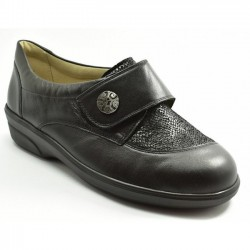 Casual shoe for wider feet Solidus 47018-00308