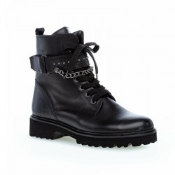Autumn biker style ankle boots Gabor 71.800.27