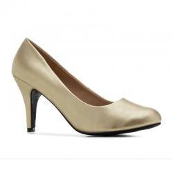 High-heel shoes Andres Machado AM422 soft oro