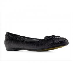 Melnas baletkurpes/Balerīntipa kurpes Andres Machado TG104 glitter negro