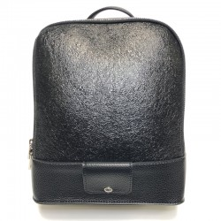 Backpack made from leatherette Sominta 28x24x13 1832-black