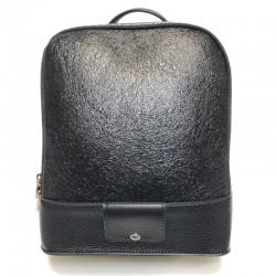 Ryggsekk av imitert skinn Sominta 28x24x13 1832-black