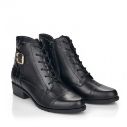 Women's autumn low boots with little warming Remonte D6875-02