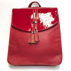 Backpack made from leatherette Sominta 34x31x9 1674