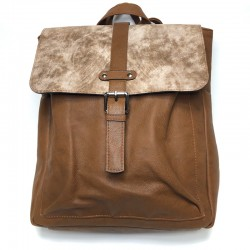 Backpack made from leatherette Sominta 32x31x9 1751