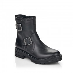 Winter low boots with natural wool Remonte D2274-01