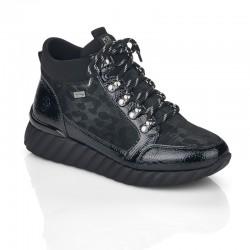 Moteriški žieminiai  nėrinių batai  Remonte D5978-02