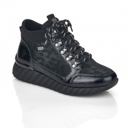 Women's Winter lace up low boots (with zipper) Remonte D5978-02