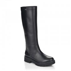 Moteriški žieminiai ilgaauliai batai su natūralia vilna Remonte D2275-01
