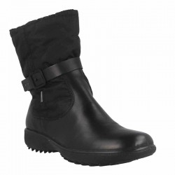 Zip Front Waterproof Black Snow Boot  Westland 32424 TopDryTex
