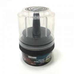 SECO Shoe Cream with Sponge 50 ML black