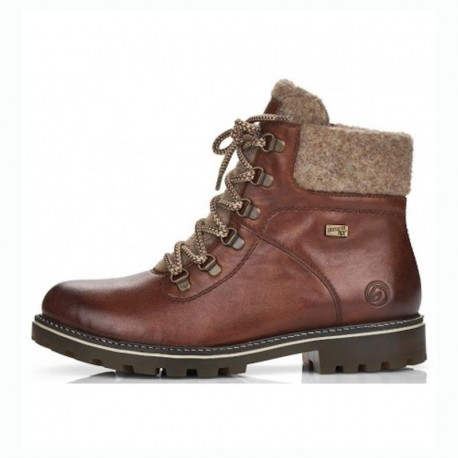 Winter low boots with natural wool Remonte D8462-22 (Thermo insole)