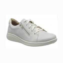 Casual women's shoe for wider feet Jomos 857202 white