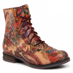 Autumn lace up low boots (with zipper), with little warming  Josef Seibel 76501