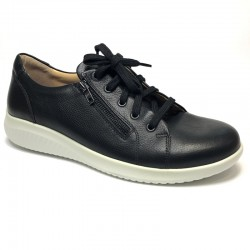 Casual women's shoe for wider feet Jomos 857202-2 black