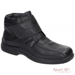 Mens winter boots with genuine sheepskin 670544