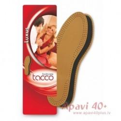 Tacco liela izmēra ādas iekšzoles