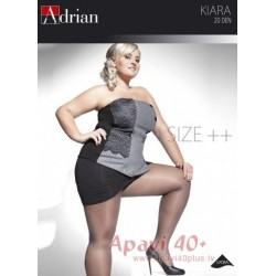 Kiara big size tights 20 DEN