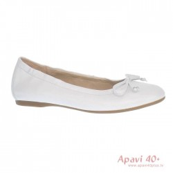 Baltas baletkurpes/Balerīntipa kurpes Gabor 44.120.21