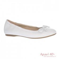 Moteriškos baltos balerinos Gabor 44.120.21