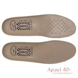 Roberto large size leather insoles