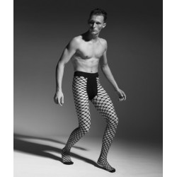 Men's fishnet tights