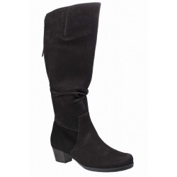 Autumn wide calf suedeboots Gabor L-XL 76.637.47