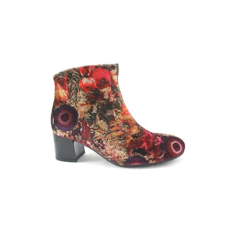 d1832abfc146 Осенние, демисезонные бархатные ботинки Gabor 72.890.35 - Apavi40plus