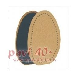 665/64 Semi insoles peccary on latex