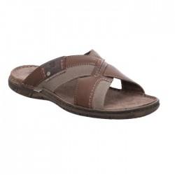 Men's big size slide flip flops Josef Seibel 43253