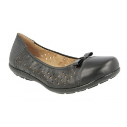 Extra wide fit women's shoes DB Shoes 70569A 6V
