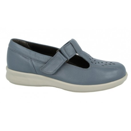 Wide fit shoes for women DB Shoes 79563X 4E