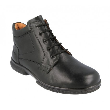 Extra wide fit men's ankle boots DB Shoes 80027A 6V